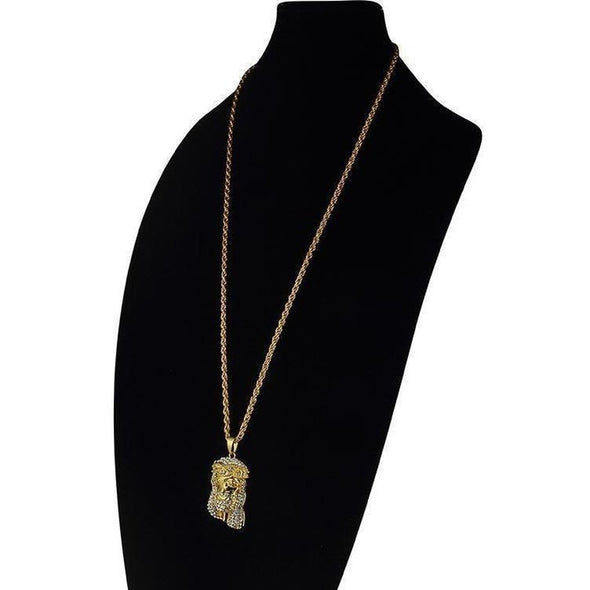 Urban Clothes Chains- Micro-Jesus Chain - FASHIONOPOLITAN