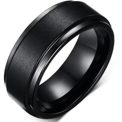 Men's Rings- Pure Tungsten Ring - FASHIONOPOLITAN