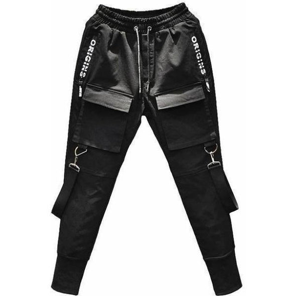 Urban Clothes Men's Joggers- Strapped Joggers - FASHIONOPOLITAN