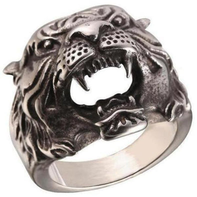 Men's Rings- Tiger Ring - FASHIONOPOLITAN