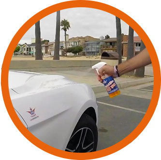 waterless car cleaning kit - best waterless car wash - shinykings california -  wash&wax - waterless wash&wax