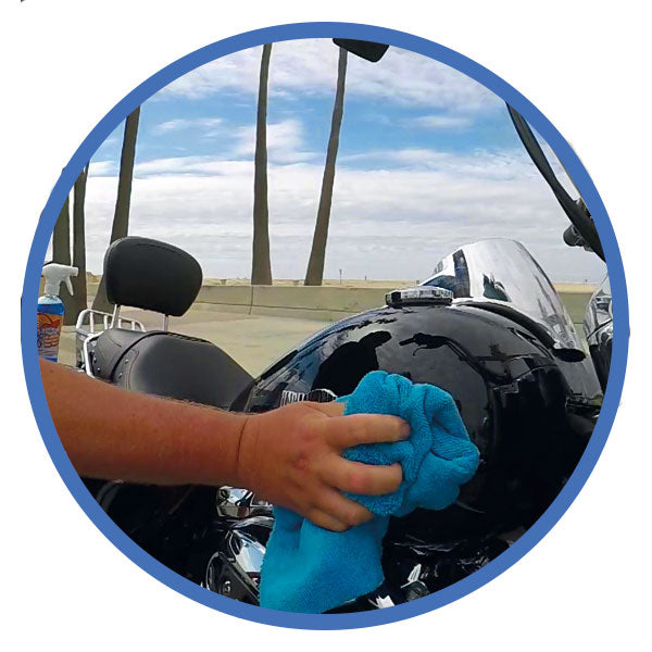 Best Waterless Motorcycle Cleaner - Wash&Shine66 Bike Wash Online