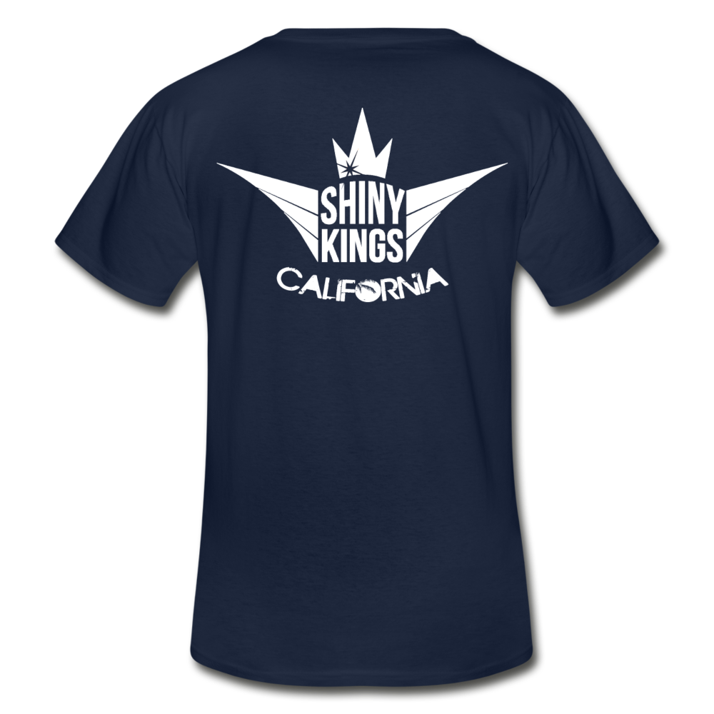 Men's V-Neck T-Shirt - navy