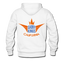 Men's Premium Hoodie White With Original Label - white