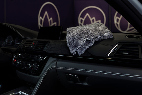 Ultra Plush Microfibre Grey Cloth