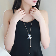 Load image into Gallery viewer, Beautiful Butterfly Long Chain Pendant for Girls