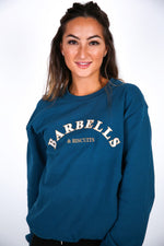 Barbells & Biscuits Embroidered Sweater - BBx FITNESS