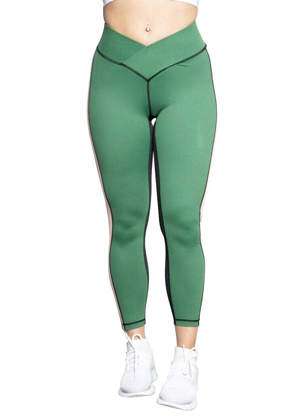 Limited edition Forest Green Gym Leggings - BBx FITNESS