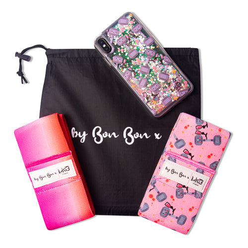 Fitness & Fizz Glute Band Set & Phone Case - PRE ORDER - BBx FITNESS
