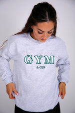 Gym & Gin Embroidered Sweater - by Bon Bon x