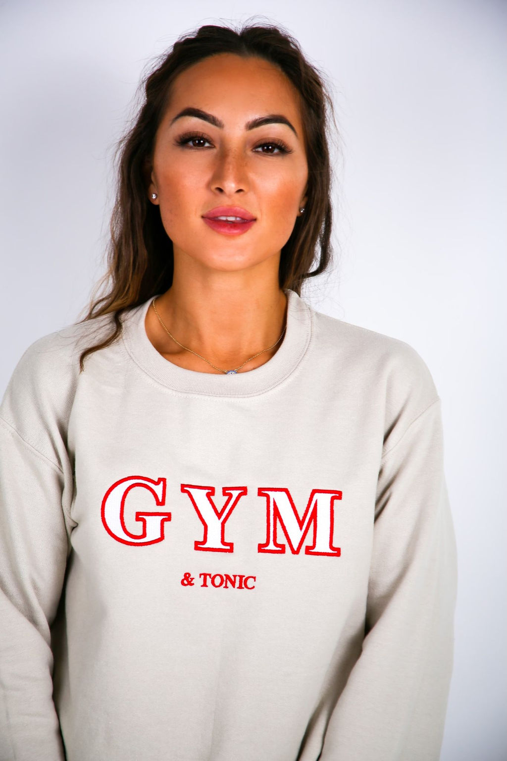 Gym & Tonic Embroidered Sweater - by Bon Bon x