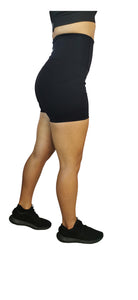 Gym Shorts High Waist with Pockets Black (CLEARANCE - 50% off) - BBx FITNESS