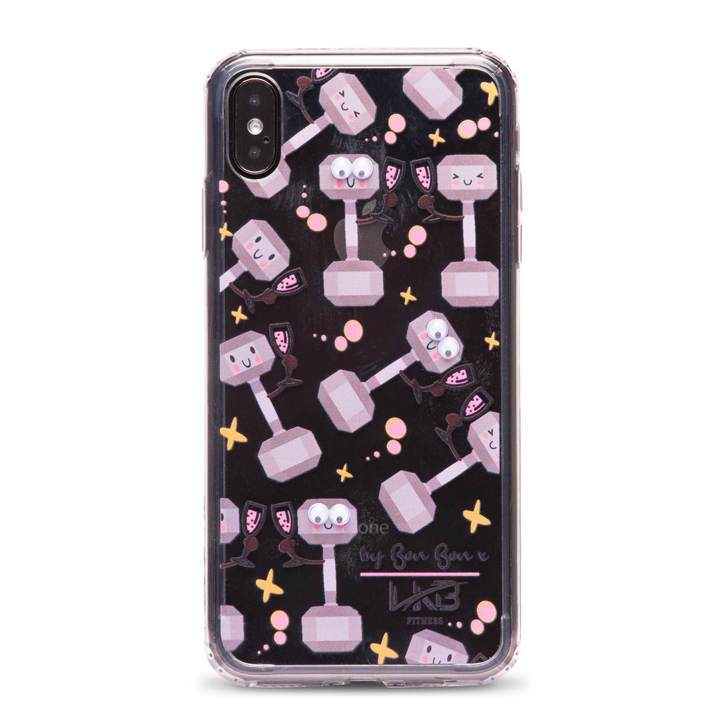 Fitness & Fizz Phone Case with Goggle Eyes - PRE ORDER - by Bon Bon x