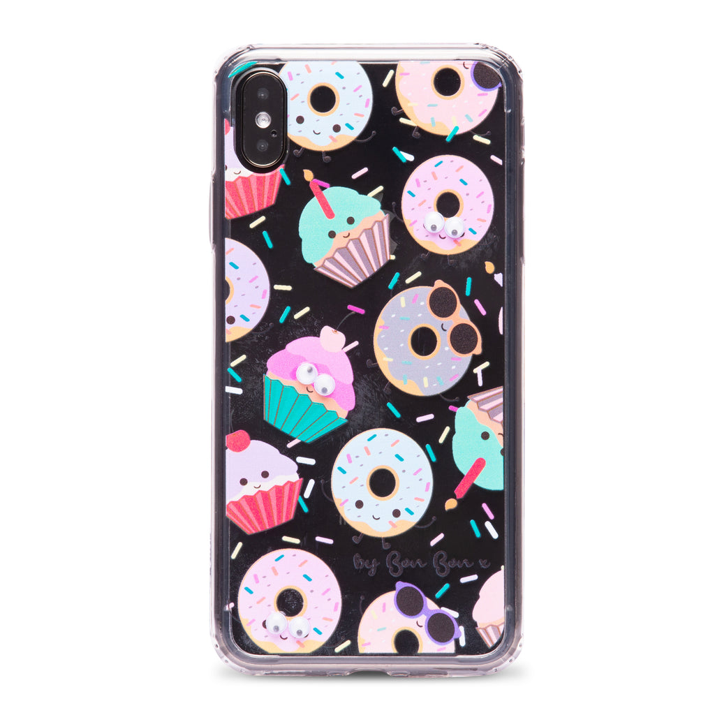 Doughnut Dave Phone Case with Goggle Eyes - PRE ORDER - by Bon Bon x