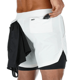 Men's Running Shorts with Phone Pocket