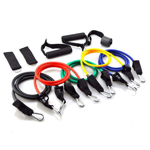 Resistance Band Set - 11 Piece Set
