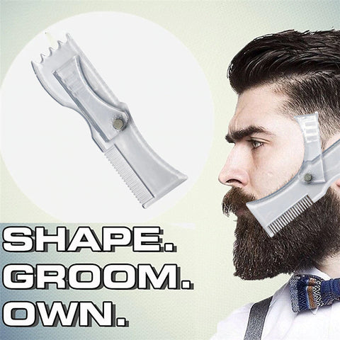 Rotating Beard Shaping Tool