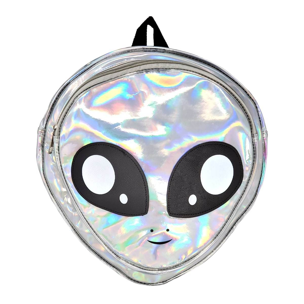 Alien Head Backpack Holographic Vinyl Print Pakapalooza The alien head is a weapon found exclusively in dead rising 2: alien head backpack silver