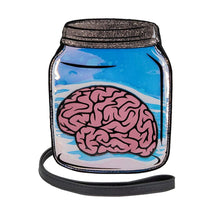 Load image into Gallery viewer, Brain Jar Crossbody Bag | Pakapalooza