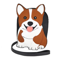 Load image into Gallery viewer, Corgi Crossbody Bag | Pakapalooza
