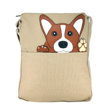 Load image into Gallery viewer, Corgi Messenger Bag | Pakapalooza