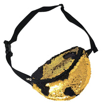 Load image into Gallery viewer, Gold Sequin Fanny Pack | Pakapalooza