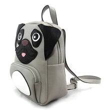 Load image into Gallery viewer, Pug Mini Backpack, Side | Pakapalooza