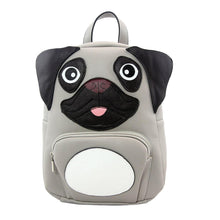 Load image into Gallery viewer, Pug Mini Backpack, Front | Pakapalooza