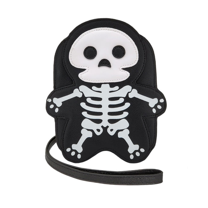 Skeleton Crew Crossbody Bag, Front - Pakapalooza