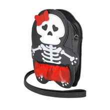 Load image into Gallery viewer, Skeleton Girl Crossbody Bag | Pakapalooza