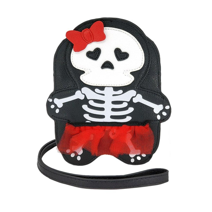 Skeleton Girl Crossbody Bag | Pakapalooza