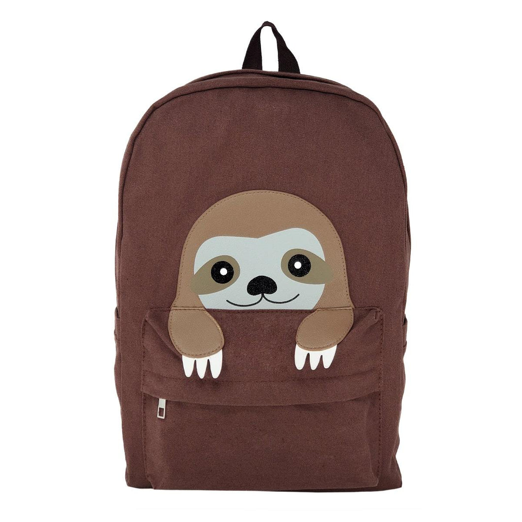 Sloth Backpack, Front | Pakapalooza