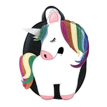 Load image into Gallery viewer, Unicorn Mini Backpack, Front | Pakapalooza