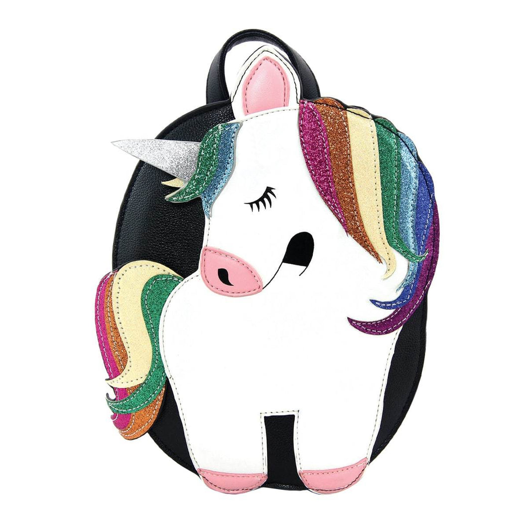 Unicorn Mini Backpack, Front | Pakapalooza