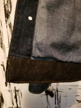 Load image into Gallery viewer, CUSTOM DENIM JACKET in Bb (Flat BLK)