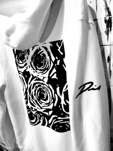 ROSES IN Bb (Flat BLK) WHT Hood