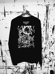ROSES IN Bb (Flat BLK) Long Sleeve Jersey