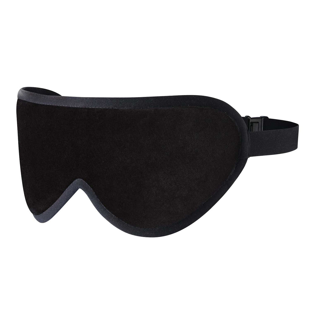 Stealth Black Silk Sleep Mask