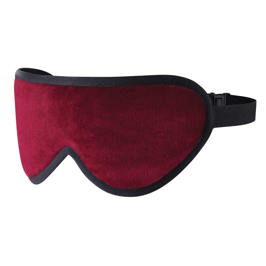 Bond Street Burgundy Silk Sleep Mask