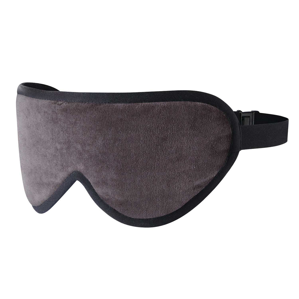 Grosvenor Grey Silk Sleep Mask