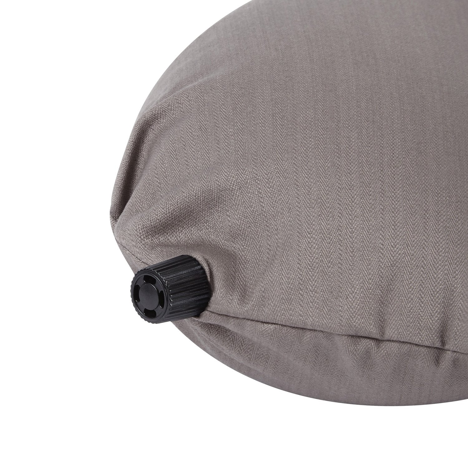 Taupe Grey Travel Pillow by Masters of