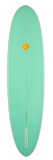 "JUNOD EGG - 7'6"" w/artwork by TESSA HOPE HASTY - Michel Junod Surfboards"