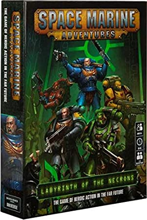 Space Marine Adventures: Labrynth of the Necrons