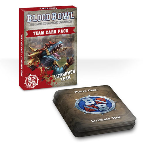 Lizardmen Team Card Pack