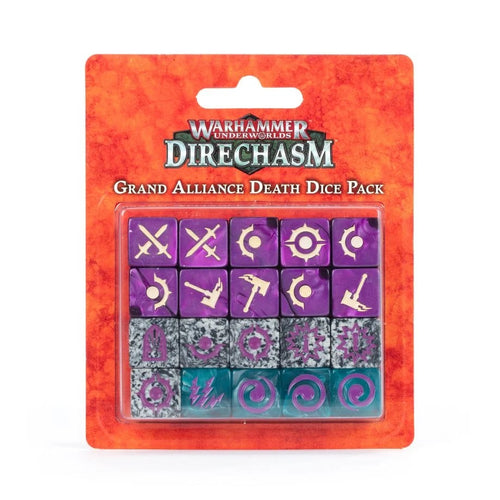 Warhammer Underworlds: Direchasm – Grand Alliance Death Dice Pack