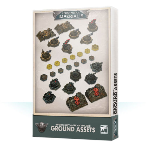 Aeronautica Imperialis: Imperial and Ork Ground Assets Box