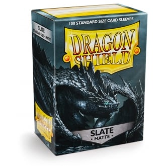 Dragon Shield Standard 100 Slate Sleeve