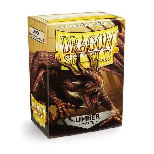 Dragon Shield Standard 100 Umber Sleeve