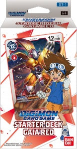 Digimon TCG: Starter Deck Gaia Red