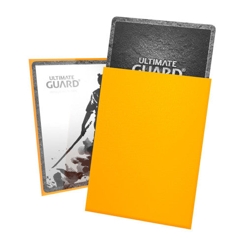Ultimate Guard Katana Sleeves - Standard Yellow